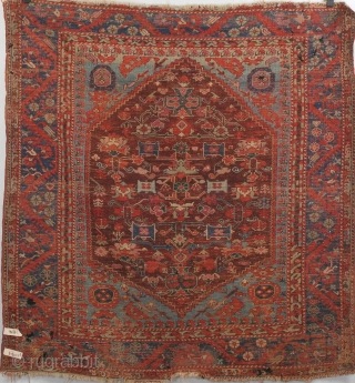 Kula Demirci Vase Medallion carpet, 141 x 150 cm. Bel Canto period piece with dazzzling coloratura. Please inquire for detailed condition report.