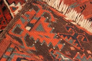 1880s Yomut Ensi.  4'8'' x 5'3''.  Good condition.  Natural colors.  Ebay auction item: https://www.ebay.com/itm/143500146928