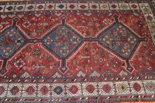 "Shekarlu Qashqai 5""2'' x 9'4'' - Ebay auction http://www.ebay.com/itm/142276855641?ssPageName=STRK:MESELX:IT&_trksid=p3984.m1555.l2649