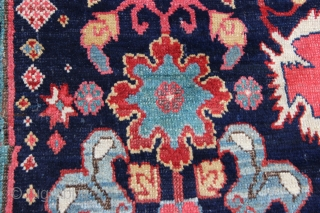Mid 1800s Karabagh with an Afshan design.  Approximate size is 9x22.  Beautiful rug with excellent colors.  The selvages were re-done and there was some minor professional re-piling work on  ...