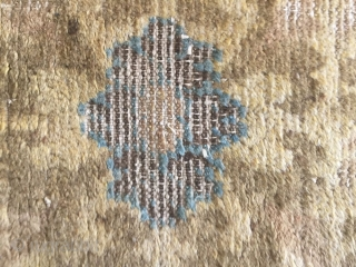 Carpet of ningxia, s about 1650 or so, size 220 cmx72cm, seriously damaged, the price of $1100