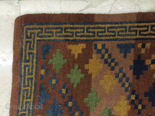 Around 1990, Tibetan rugs, s size 85 cmx74cm size 78 cmx74cm all wool, price concessions