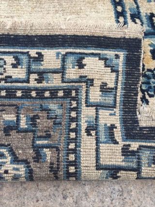 Tibetan saddle blanket, s about 1850 years or so, all wool, welcome consulting