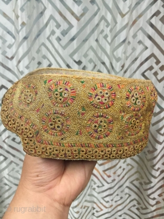 Muslim hat, the age of around 1935, the workmanship is exquisite, the quality is perfect, welcome consultation