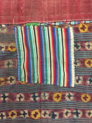 Tibet Tibet wool blanket back, s about 1800 years or so, size 103 cm wide width 138cm, 96 cm high, all wool price concessions welcome consultation!