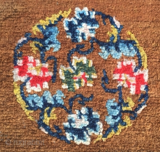 Around 1900, Tibetan carpets, s size of about 147cmx77cm, including warp weft wool