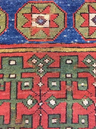 Middle of Anatolian Carpet fragment  0.75 x 0.70