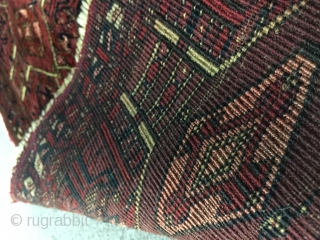 Turkmen Torba with Some Silk