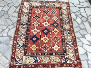 Nice shirwan rugs size 144 x100 cm, some synthetic color