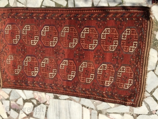 Small ersari rug nice color good condition