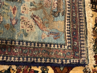 Lovely bijar old rugs