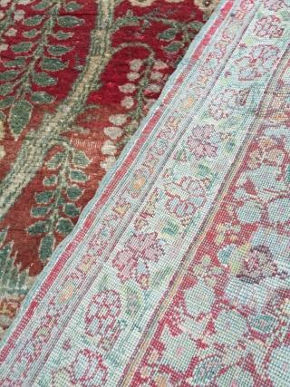 Tebriz / haji jalili silk carpet Size 175/125 cm