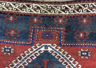 Prayer caucasian carpet