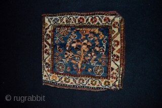 Beautiful and Rare Antique Qashqai Confederacy Chantheh or Small bag.