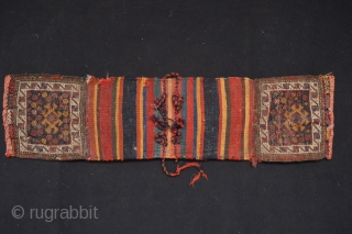 Beautiful Antique small bags ( probably  Luri Tribe shoulderbags ) Original condition 