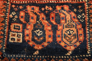 as found Dimutive and Charming  Antique  Afshar chanteh 