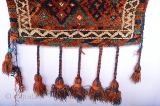 Full Pile and compleet old Senjabi Kurd Bag