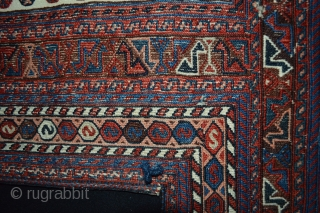 Beautiful Probably Veramin Region Afshar Horse Cover