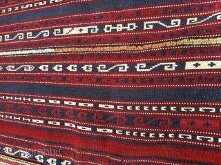 Antique Caucasian Terekeme Tribe Horse cover. Perfect natural colors. begin 1900-1910