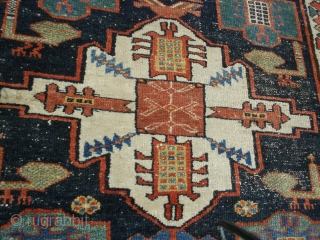 Excelent Antique Kurdish long rug 100% wol on wol  Natural Dyed Soft and smooth. size 324 x 109 cm
