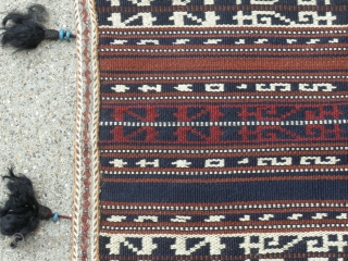 Rare Antique Horsecover  Karapapak(Terekeme) tribe Sivas area is in eXXcelent condition tassels are from Angora with blue glass rings. The Karapapak (Karapapakh, Garapapag, Terekeme) (meaning Black Hat) are a small ethnic group  ...