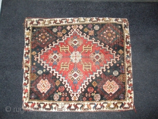 Fresh in collection Qashqai bag , Amazing Colors, No Repairs 19 th century Size 74 x 65 cm