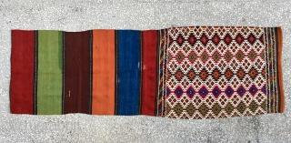 """Eastern Anatolian Probably Malatya,Large Bagface Size/106x72cm/2'3x7"""""""