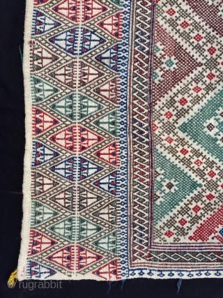 """Central Anatolian Cecim Size:158x122cm / 5'3""""x4"""""""
