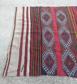 "Central Anatolian (Konya) Chuval Size:142x120cm /4'8""x3'11"""