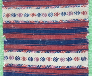 "Western anatolian Bergama Chuval—Size:104x62Cm/  3""x2"""