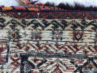Afshar tribes saddlebag 19th Century Size:88x50cm / 35x20inc