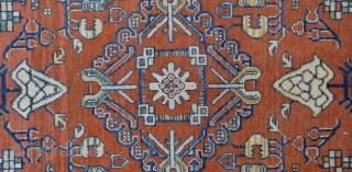 "Khotan Rug 19th Century         Size:187x381 Cm / 6'2""x12'8"""