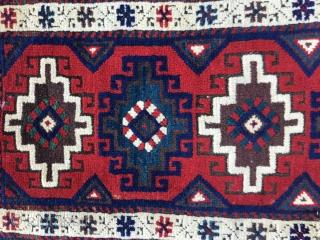 """West Anatolian """"Döşemealtı""""Yastık-Begining of 20th Century  Size:75x40cm / 36x16 inches"""