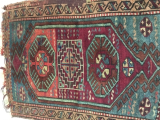 a Kurdish Yastik, East Anatolia, 19th centuru