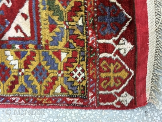 Central Anatolian Rug (Derbent)19th Century