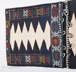 Caucasian Saddle Bag (complete) first half 20th century