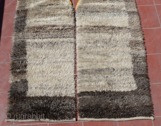 "Central Anatolian Vintage Shepeard's Kepenek ( coat ),Very good condition and natural dyes…thanks you for view our stuff:)) Size:298 x 145 Cm 9'9""x4'9"""