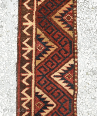 Central Asian Kirgiz band size:318x25cm 10'5x0'10""
