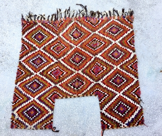 "Central Anatolian Horse Cover (chırpy-Cihanbeyli) Size:155x168cm / 5'1""x5'4"""