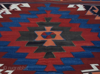Central Anatolian Kilim Circa 1900