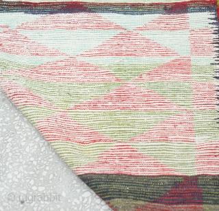 Central Anatolian Old Tulu Rug Size:125 x 190 Cm                          ...