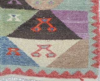 Anatolian Konya(Obruk) minimalist Tulu rug, Size: 109 x 146 Cm                         ...