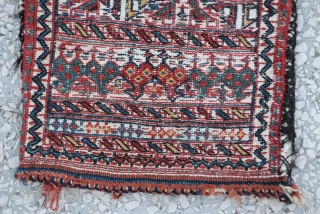 Afshar Sumak Bag Size:30 x 46 Cm         12x18 inches