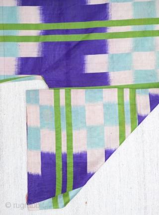 Central Asian Ikat Dress Size:176x112Cm