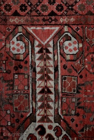 Ersari Beshir Rug Late 19th Century, five beautiful ranks
