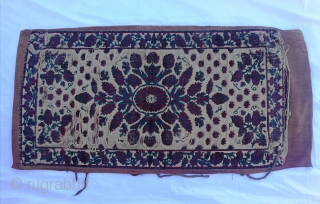 "Ottoman Chatma Size:116x62cm / 3'10""x2"""