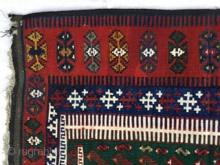 Central Anatolian (KONYA) prayer Kilim Rug 