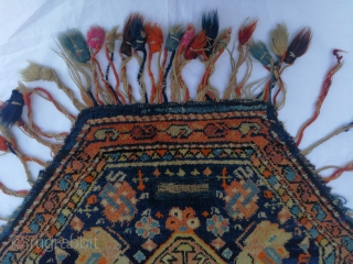 Central Anatolian Horse cover (at eger) Size:68x68cm