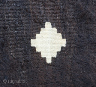 "Anatolian Goat Hair Siirt Blanket SIze:128x170 Cm          4'3x5'7"""