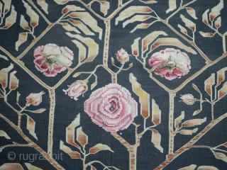 Bessarabian Kilim ın Good Condition Circa 1920 Size:302x200                            ...
